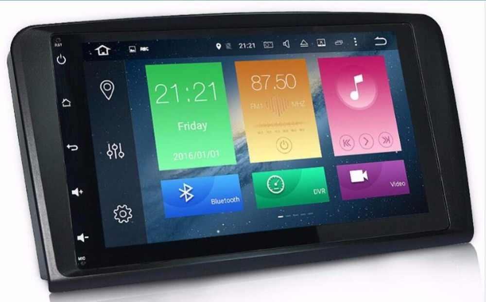 9''android 8.0 2ディン9インチカーdvdプレーヤー用メルセデスベンツml w164 ml350 ml500 gl x164 gl320 4ギガバイトramラジオgpsナビゲーション