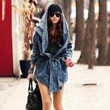 Clothing Loose Coat Denim