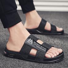 Slippers EVA Non-slip Outdoor Beach Flip Flops 2019 Summer Causal Shoes Slides Black Sandal