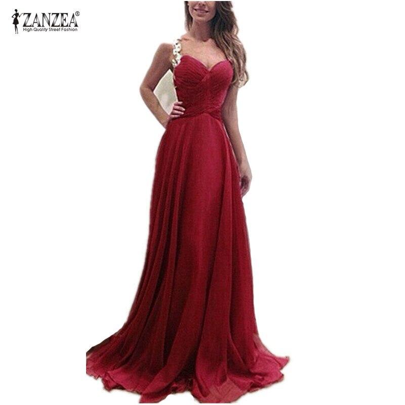 Vestidos de festa 2018 Women Sexy Long Lace Party Dress Vintage Elegant Strap V Neck Sleevelsss Draped Long Dresses