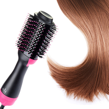 Hot Curly Hair Stick Comb Step Dryer Brush Ion Blow kinkiness Machine Hairdressing Tool Multifunctional  Professional CW29