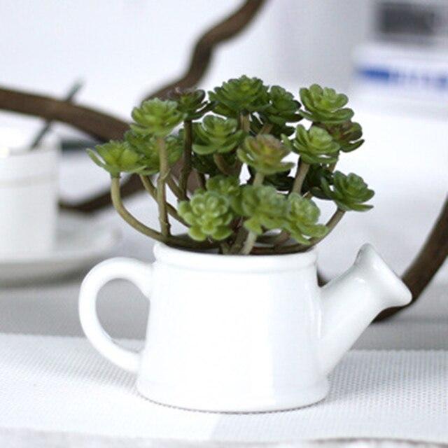 24 Глава Зеленый Искусственные Суккулентных Растений Сочные Для Домашнего Отель Свадьба