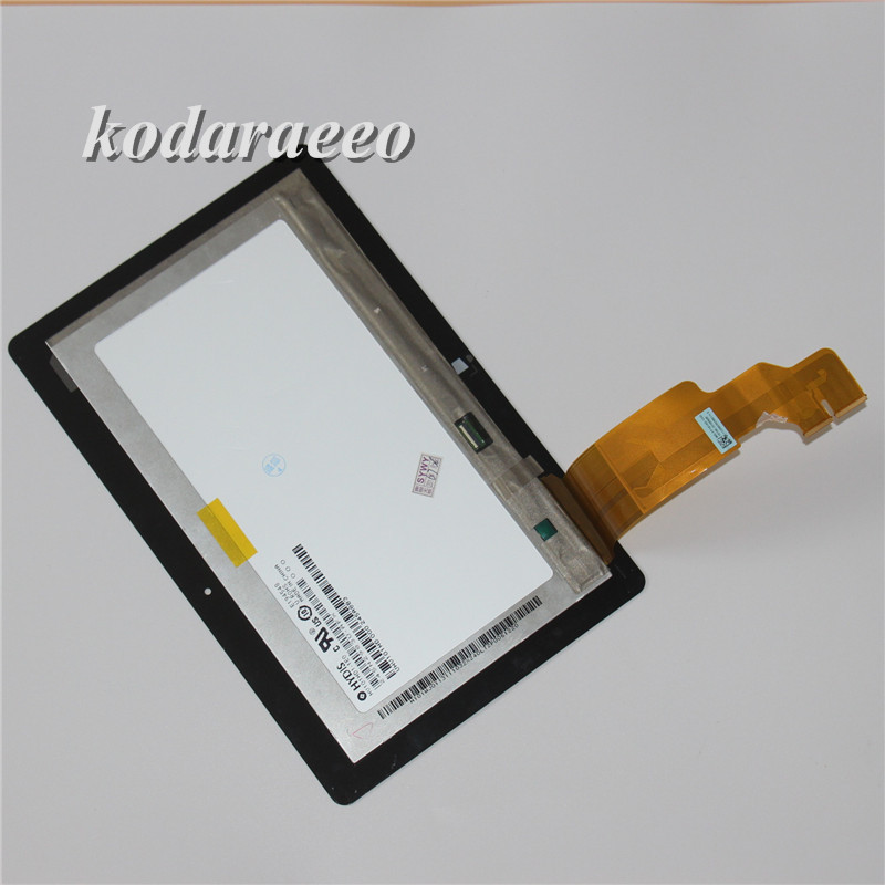 kodaraeeo 100% tested For ASUS VivoTab RT TF600 TF600T Tablet PC Touch Screen Digitizer+LCD Display Assembly Part Tools original touch screen glass lcd display panel sreen with frame for asus vivotab rt tf600 tf600tl 5234n fpc 2 free shipping