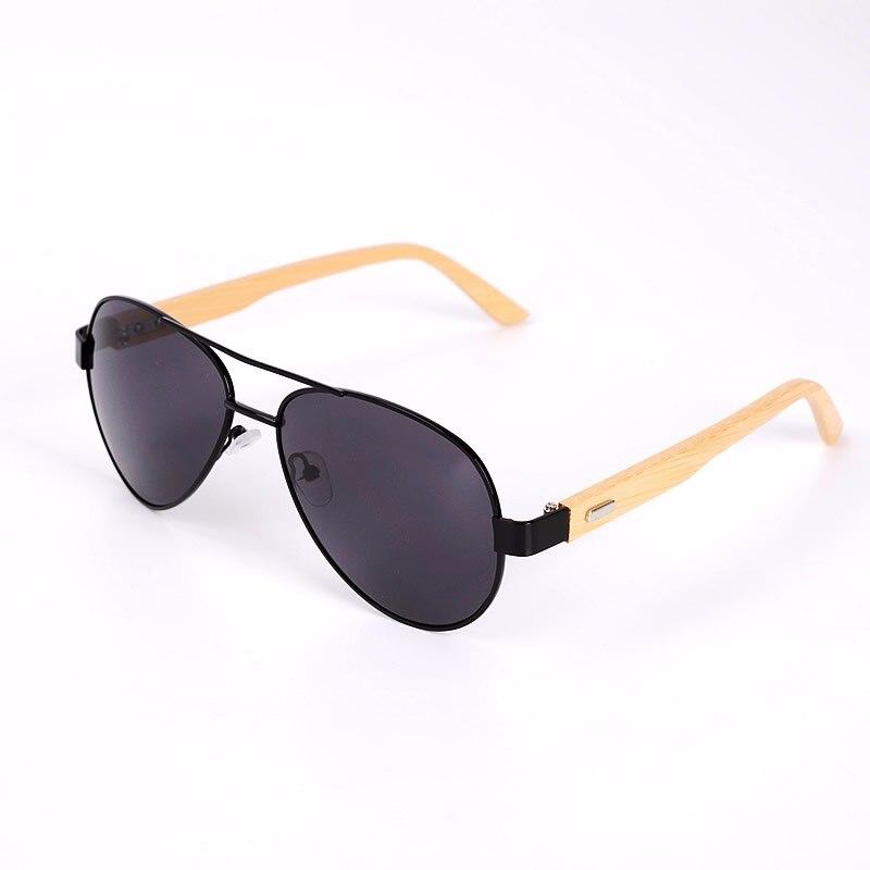 NOSSA font b Handmade b font Luxury Bamboo Sunglasses Natural Wood Sunglasses Women s Fashion Designer