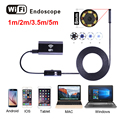 Wi-fi Эндоскопа HD 1 м 2 м 5 м Wi-Fi Камера Android 720 P Iphone Эндоскоп Водонепроницаемая Камера Endoscopio Android iOS Эндоскопа Камеры