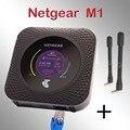 Разблокированная б/у Мобильная точка доступа Netgear Nighthawk M1 mr1100 4GX lte rj45 lan 5 ГГц CAT16 4g Автомобильный Wi-Fi 5040 мАч антенна 4g Роутер