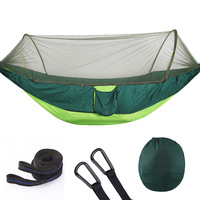 Hot New Ultralight 210T Portable Fully Automatic Outdoor Tent Mosquito Net Tree Hammock Camping March Picnic Fishing 250*120CM