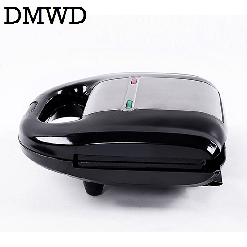 DMWD Electric mini cake oven Eggs Waffle Maker muffins Toaster breakfast bread Non-stick baking machine grill 220-240V EU plug dmwd electric waffle maker muffin cake dorayaki breakfast baking machine household fried eggs sandwich toaster crepe grill eu us