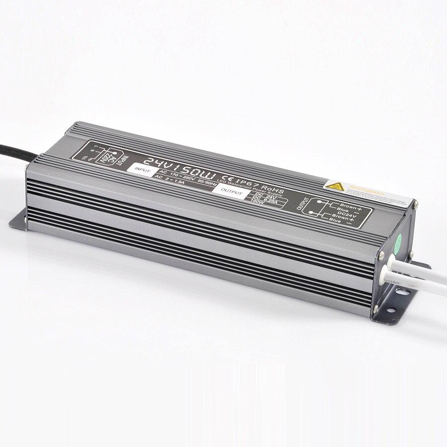 IP67 étanche à l'eau dimmable tension constante alimentation pour led bande lumière DC 12Vdc 21A DC 24 V 10.5 250 w gradation