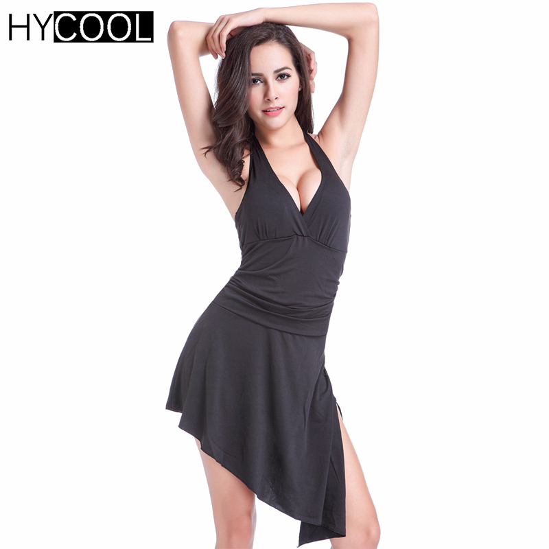 HYCOOL 2017 Sexy Female Swimwear One Piece Swimsuit Solid Swim Dresses Bathing Suits Swimming Suit for Women Swimdress Beachwear one piece swimsuits trikinis high cut thong swimsuit sexy strappy monokini swim suits high quality denim women s sports swimwear
