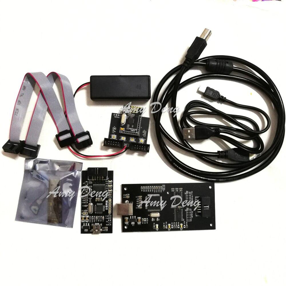Kit de développement de Module NRF24LU1 NRF24LE1 (avec cartes de développement et modules E1) (compatible nor, dic)