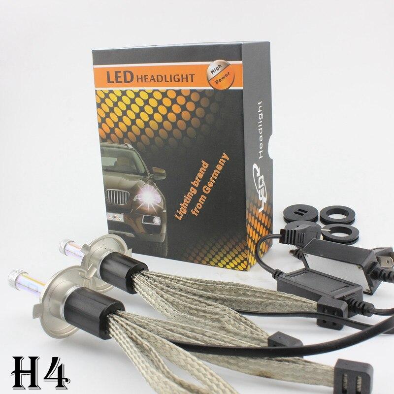 R4 H4 LED Moto Phare Salut Lo 3000 K 4300 K 6000 K 8000 K 30 w 3600lm antibrouillard H1 H3 H7 H8 H9 H11 HB3 HB4 9005