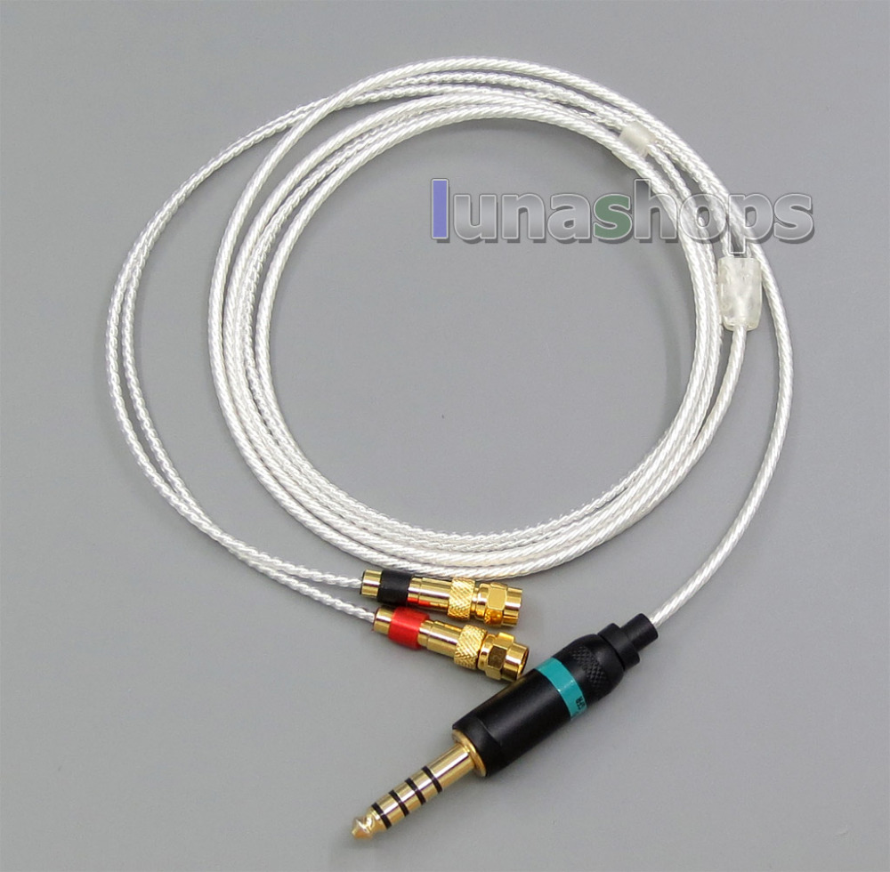 4.4mm Earphone cable for Sony PHA-2A TA-ZH1ES NW-WM1Z NW-WM1A AMP Player HiFiMan HE400 HE5 HE6 HE300 HE560 HE500 HE6 LN005578 4 4mm earphone cable for sony pha 2a ta zh1es nw wm1z nw wm1a amp player audio technica ath im50 ath im70 ath im01 ath i ln00557