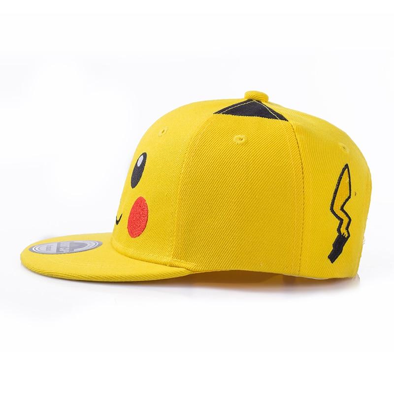 pokemon Fesyen sterbakov little boy little girl cartoon hip hop hat - Aksesori pakaian - Foto 3