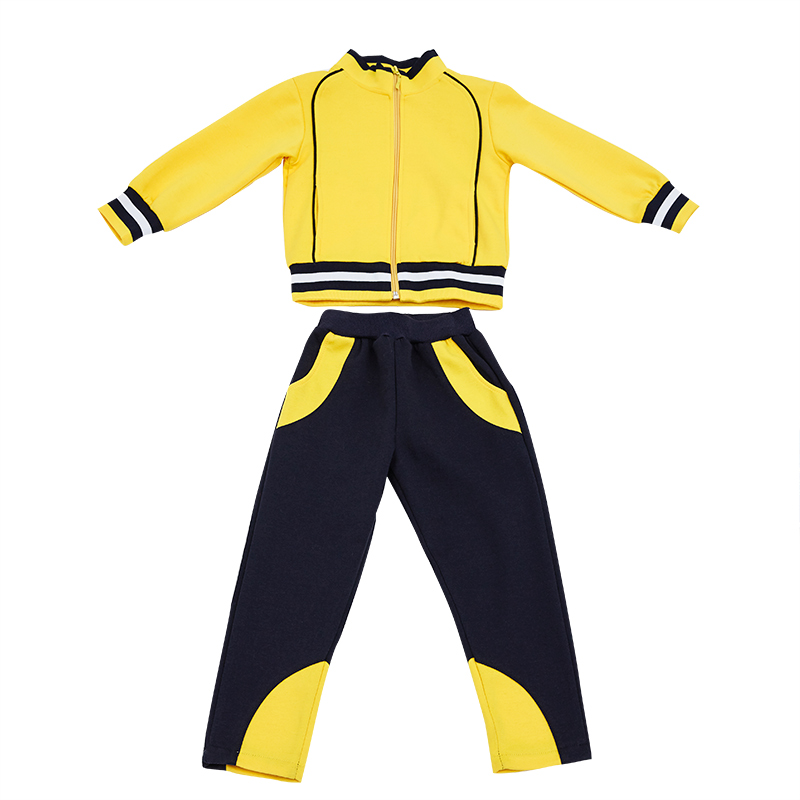 Fashion Casual Children Tracksuits Cotton Uniforms Children Clothing Popular Boys Girls Sport Suits New Children Clothing Sets wholesale new fashion autumn casual sport suits tracksuits for kids gold chain printing hip hop outwear boys clothing sets