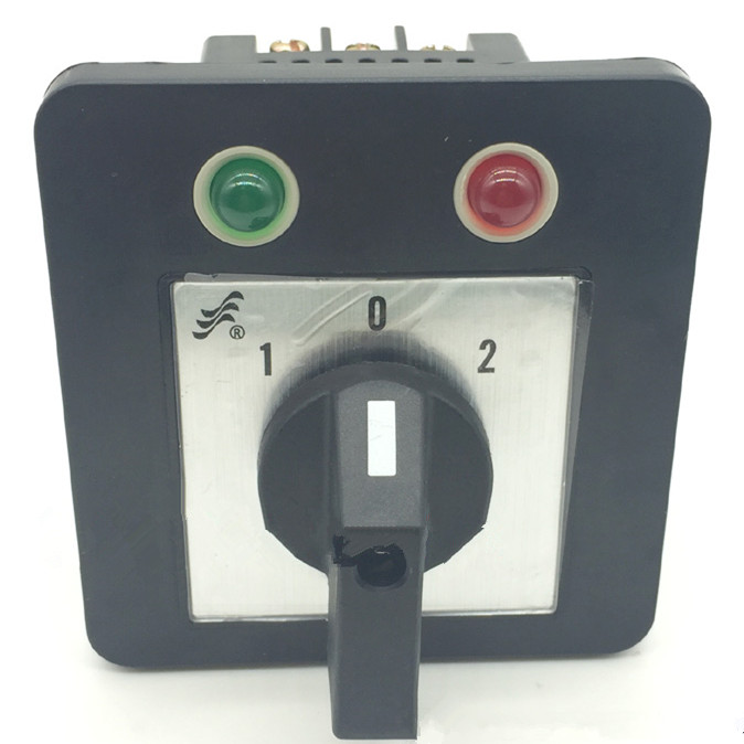 1PCS Changeover Cam Switch 20A 660V Green and Red LED Indicator Lamp 3 Positions a817 a817 y to 92