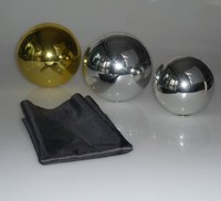 15cm Dia Floating Ball Gold Silver Trick Magic Trick With Free Shipping