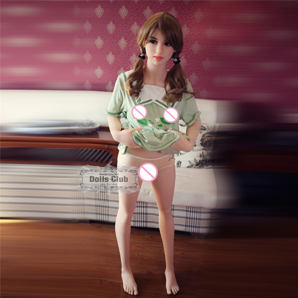 153cm Lifelike Real Sex Doll,Full Size Silicone and skeleton Love Doll,artificial small breast Oral Vagina Pussy Anal adult Doll no tax eyes closed 140cm lifelike real sex doll full size silicone with skeleton love doll oral vagina pussy anal adult doll