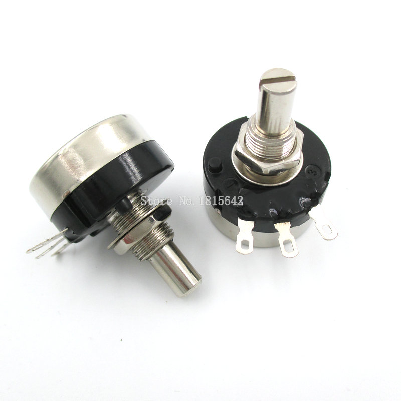 Potenciómetro de película de carbono, 2 uds., RV24YN20S RV24YN20S-B503 50K, ohmios RV24YN 503 50KR