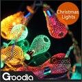 Новый год luminaria-де-меса рождественские огни, Гирлянда огни строки, Батарейка аа 20 шт. лампы, Гирлянда свет, Luminarias украшения дома