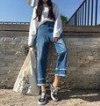 street bohemian tassles ripped capri jeans women denim pants hip hop jean femme pantalon vaqueros mujer jeans donna