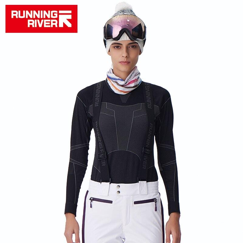 Dynamisch Fluss Marke Thermo-unterwäsche Kleidung Für Frauen Nylon Einfarbig Weibliche Kleid Zwei Farbe New Style # V4603 Trainings- & Übungs-sweater
