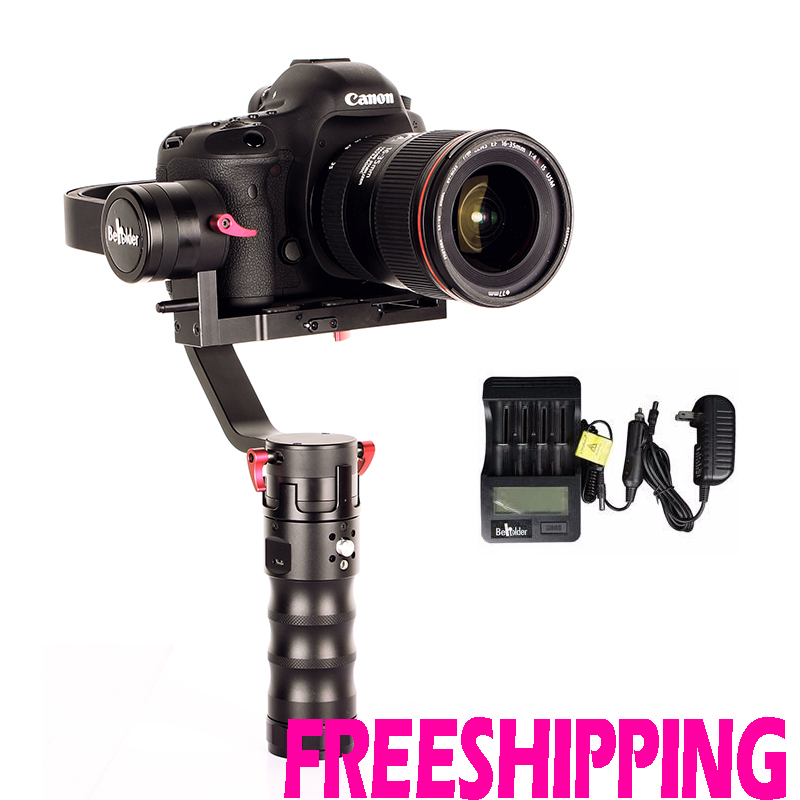 Beholder DS1 3-axis Handheld Gimbal Stabilizer for A7S Canon 6D/5D/7D DSLR Camera yuneec q500 typhoon quadcopter handheld cgo steadygrip gimbal black
