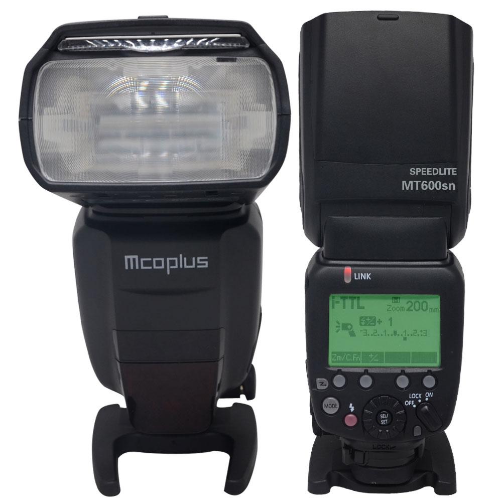 Mcoplus MT-600SN TTL Master Flaş Speedlite işık HSS 1/8000s Nikon - Kamera ve Fotoğraf - Fotoğraf 2