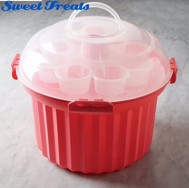 36 Cupcake Carrier Best Sweettreats Cupcake Carrier Holds Up To 60 Cupcakes Stacking