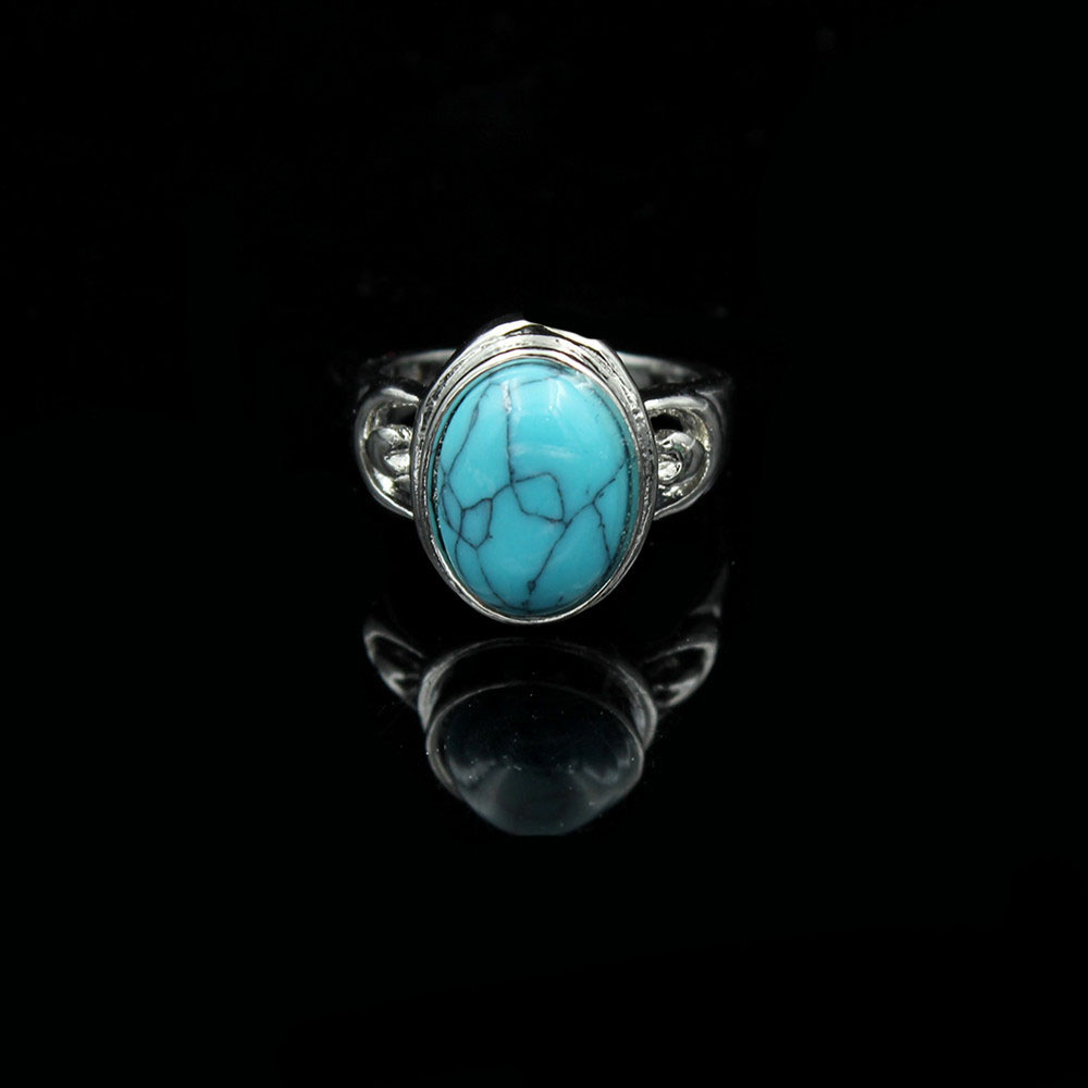 Women S Vintage Turquoise Ring
