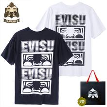 New Shelves Tide Brand Evisu Cotton Mens Short-Sleeved Buddha Head Poster Spring Summer Men Women Lovers Short Sleeves VestH630