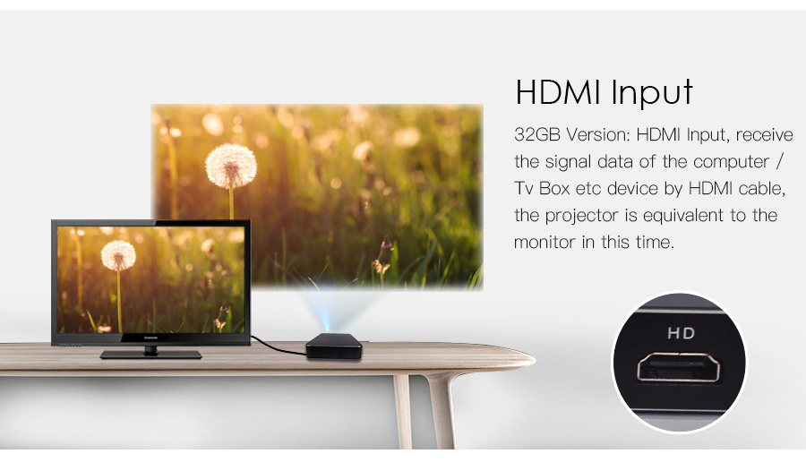 AODIAN AODIN 1+32G Portable Projector Smart Multi-touch HD 1080P DLP Projector HDMI IN mini Pocket Projector LED Android Home Theater M8S Pico projector-21
