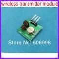 10 pçs/lote 433 MHZ Módulo Transmissor Sem Fio Super Regenerativa
