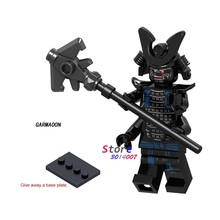 1PCS model bouwstenen actiefiguren starwars superhelden Garmaoon ninja gen Educatief Film diy speelgoed voor kinderen gift(China)