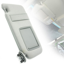 For Toyota Camry 2007-2011 1pc Gray Left/Driver Side Sun Visor Without Sunroof 74320-06780-B0 Mayitr