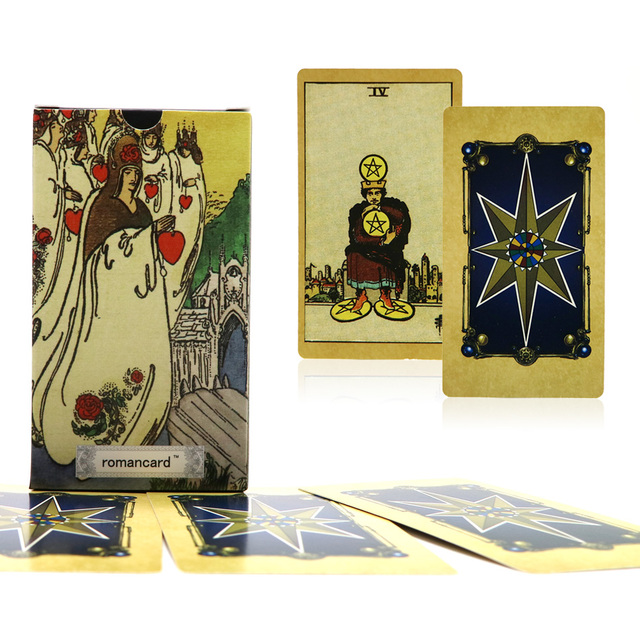 US $11 25 |Full English smith tarot deck factory made divination tarot card  with colorful box for fortune, cards game, board game-in Board Games from