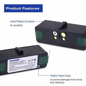 Image 4 - Sparkole 5300mAh 14.8V Li ion Battery for iRobot Roomba 500 600 700 800 900 Series 550 560 580 620 630 650 770 780 870 880 980