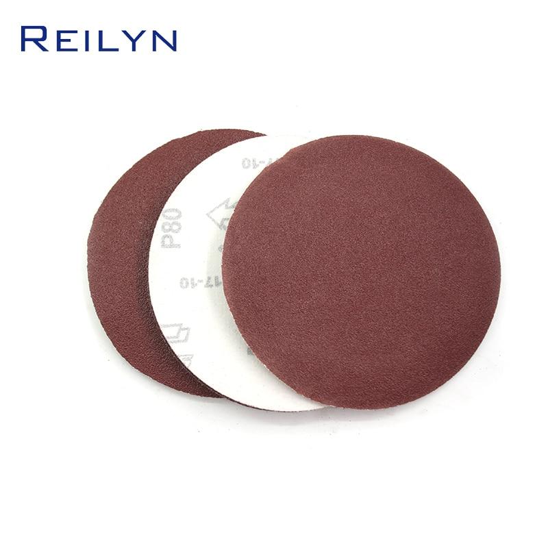 New Polished Sandpaper Tray 6 Inch 150mm Flocking Sandpaper Tray Brushed Back Paper Base Material Jade Metal Polishing