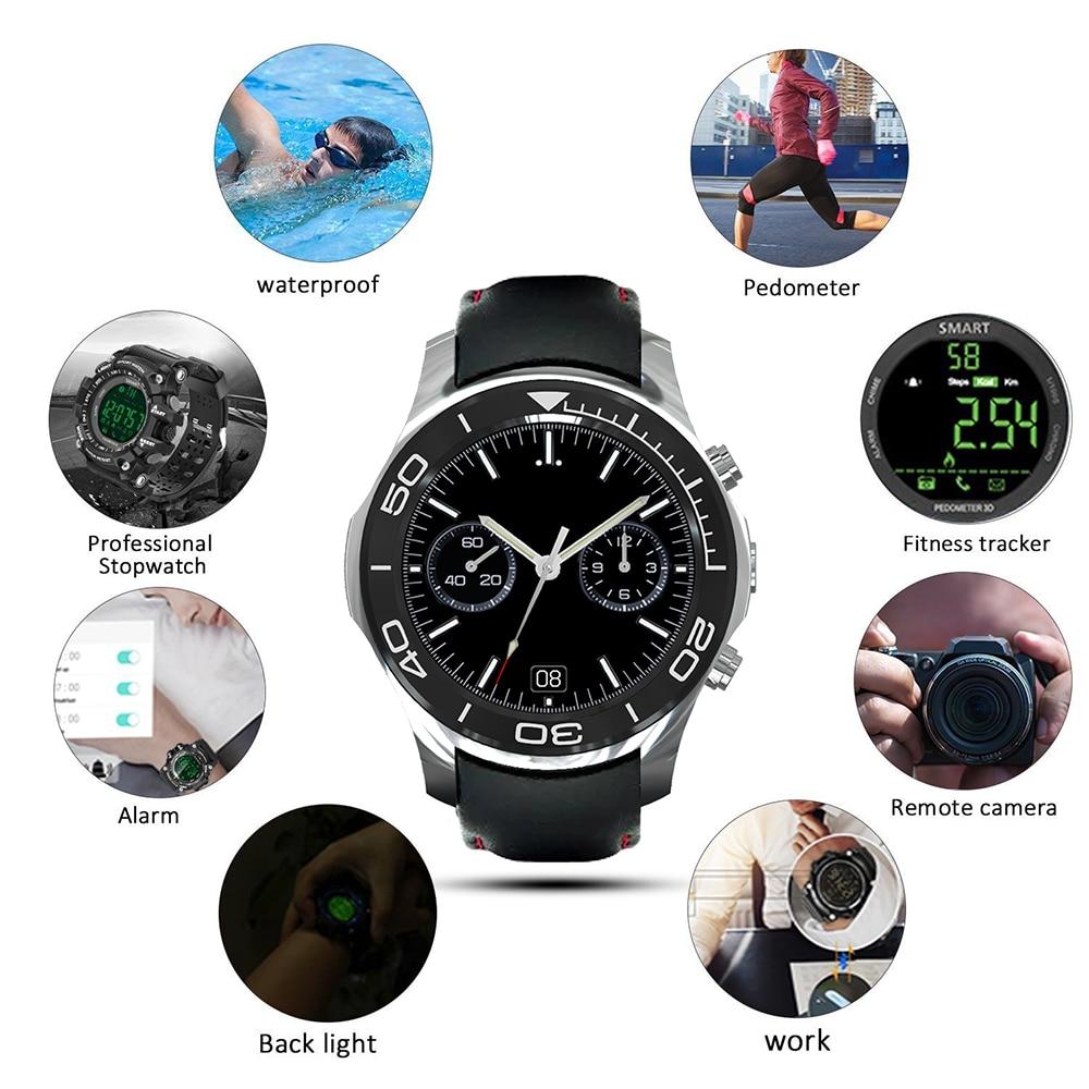 JSBP S1 Plus Heart Rate monitor smart watch electronics MTK6580 Quad core GPS 3G wifi SmartWatch pk kingwear kw88 samrt watches