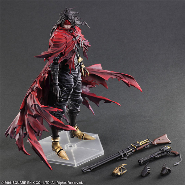 Kai PA Play Arts Dirge of Cerberus <font><b>Final</b></font> <font><b>Fantasy</b></font> <font><b>7</b></font> Vincent Felhunter Collectable Action Figure Model Toys image