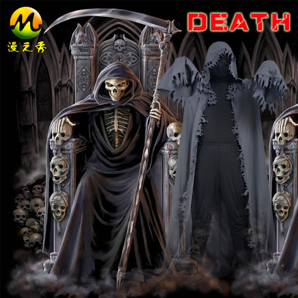 Custom Made Sale Grim Reaper Cosplay Halloween Anime Costume Anime ...