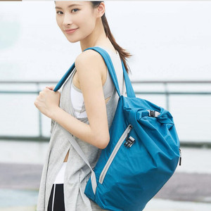 Image 2 - Youpin 90FUN Lightweight Backpack Foldable Bag Water Resistant Daypack for Man & Woman, 20L, Blue/Black H30