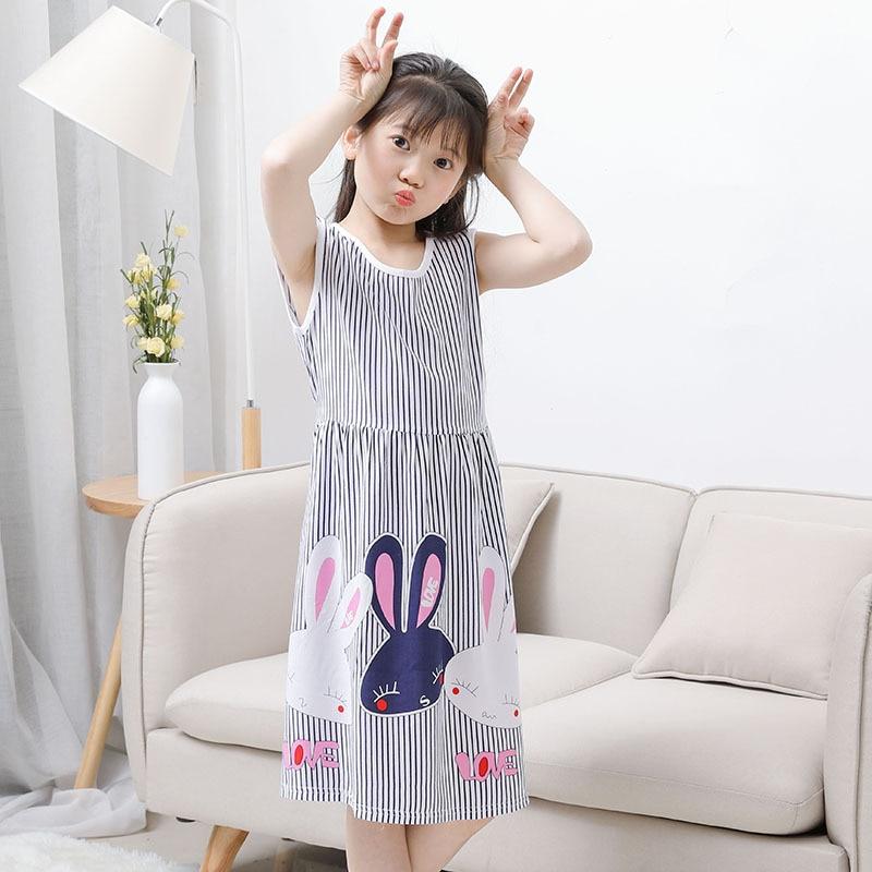 Girls Summer Dress Kids Clothes 2018 Brand Baby Girl Sukienka z - Ubrania dziecięce - Zdjęcie 1