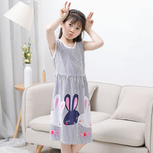 Girls Summer Dress Kids Clothes 2019 Brand Baby Girl Dress with lacing Casual cute Princess Dress Children Clothing недорого
