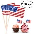 100pcs US Flag Picks...