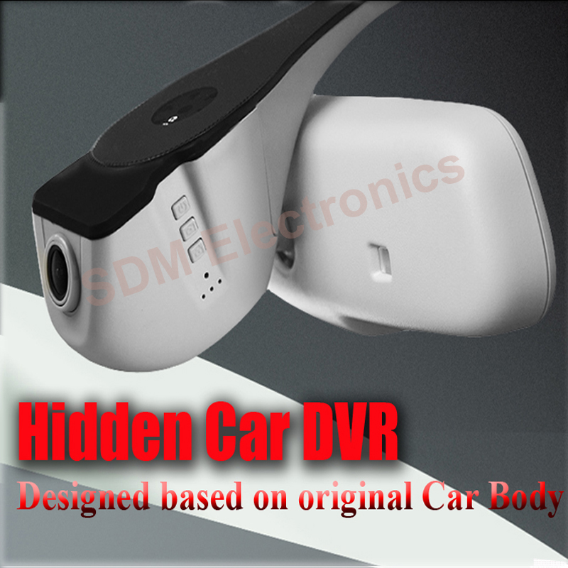 NOVATEK Full HD1080P Hidden Car Blackbox G sensor WIFI Supported For 2010 2011AUDI A4 A4L A6