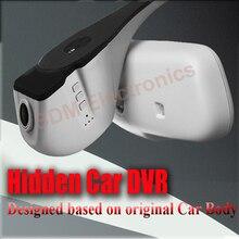 Caja Negra Del Coche Del g-sensor NOVATEK Hd1080p Oculta WIFI Apoyado Para 2010-2011AUDI A4/A4L/A6/A6L/Q5/Q7/TT (único Color Beige)