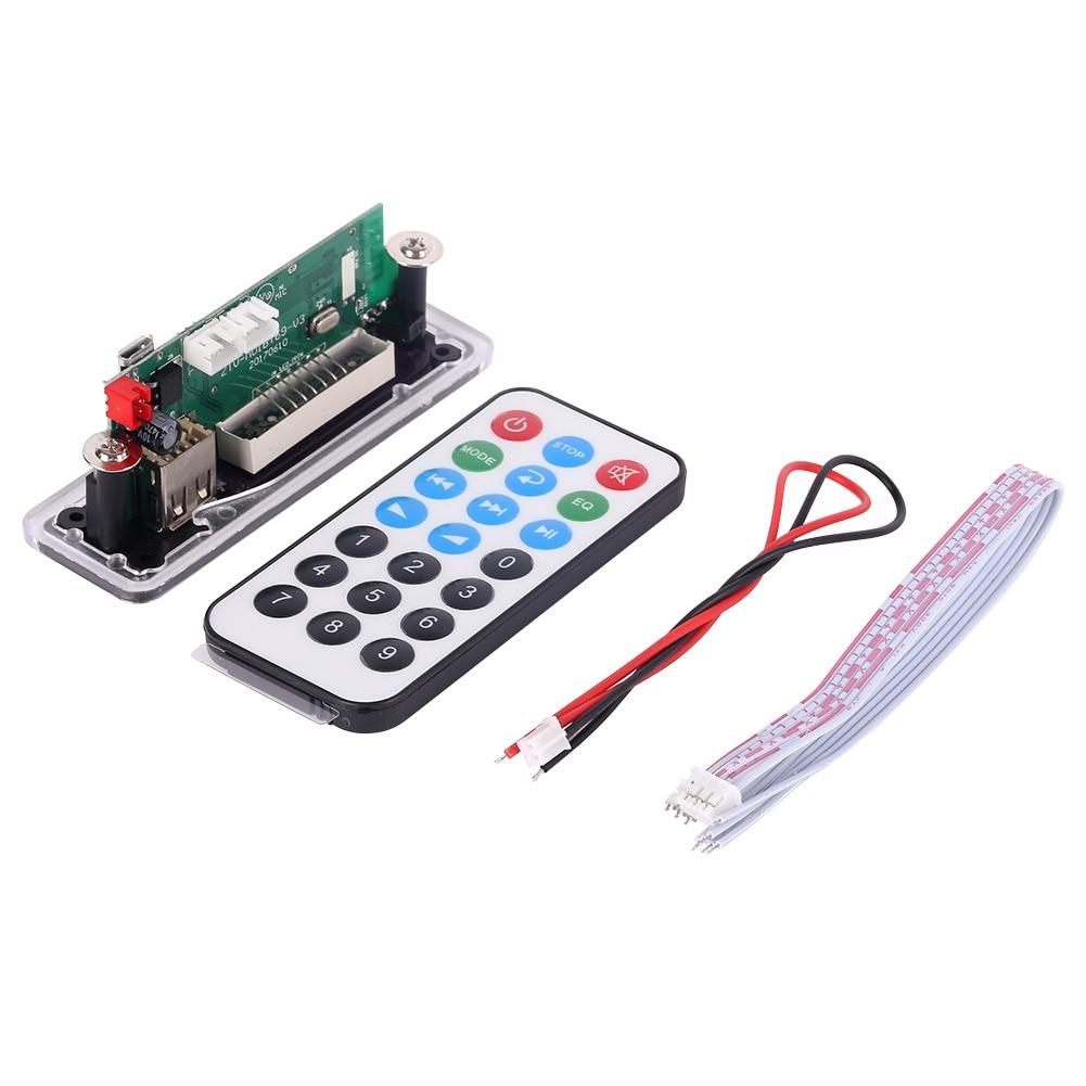 Mp3 Bluetooth Decodierung Bord Modul W/sd Card Slot/usb/fm/fernbedienung Decodierung Bord Modul Unterhaltungselektronik