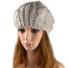 Hot Selling Promotions font b Women s b font Cotton winter warm cap Autumn Casual Knitted
