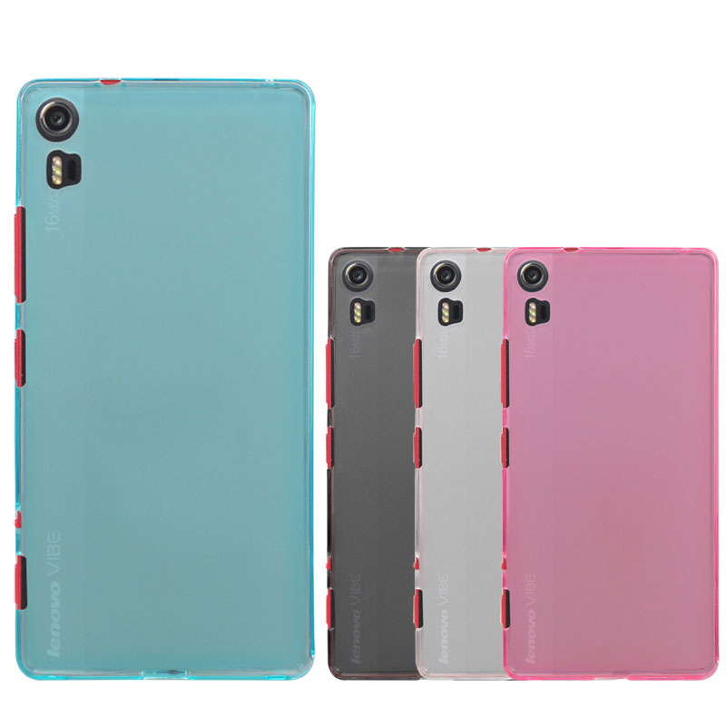 big sale ba281 d24ca US $1.39 30% OFF Lenovo VIBE Shot Case Cover Matte Pudding Soft TPU Phone  Cover Protective Case For Lenovo VIBE Shot / Z90 7-in Half-wrapped Case  from ...